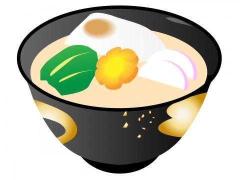 お雑煮味噌仕立て関西風