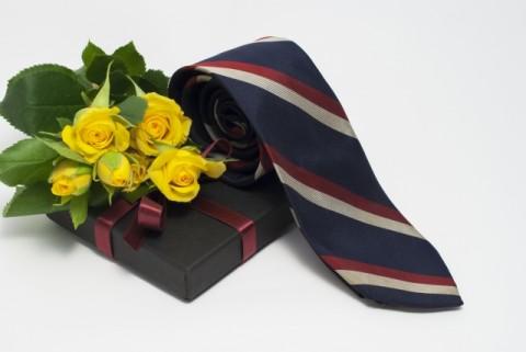 プレゼントのネクタイ