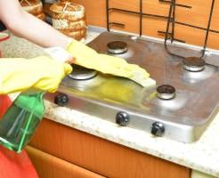 台所の掃除
