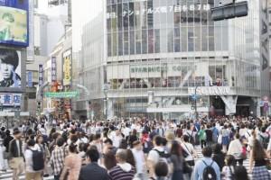 人混み渋谷