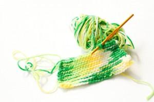 編み物手編み